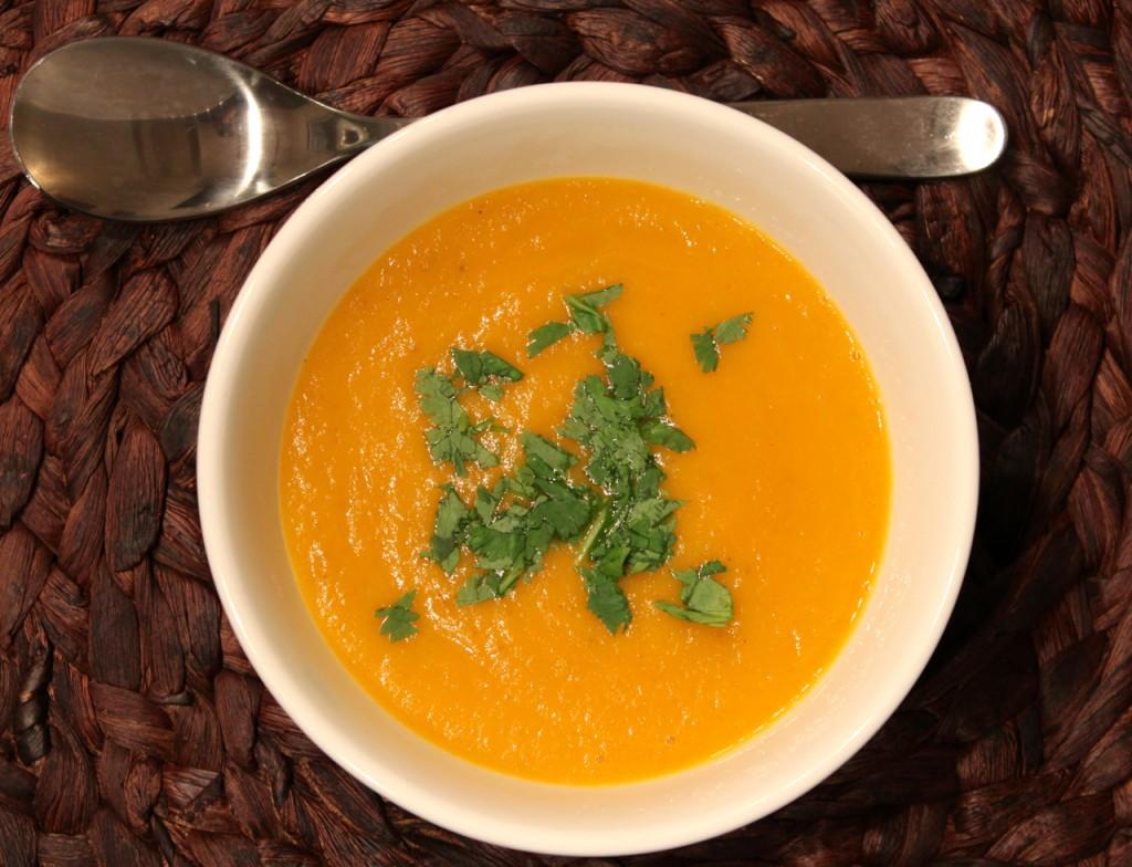 Suppeserien: Gulrotsuppe av bakte gulrøtter