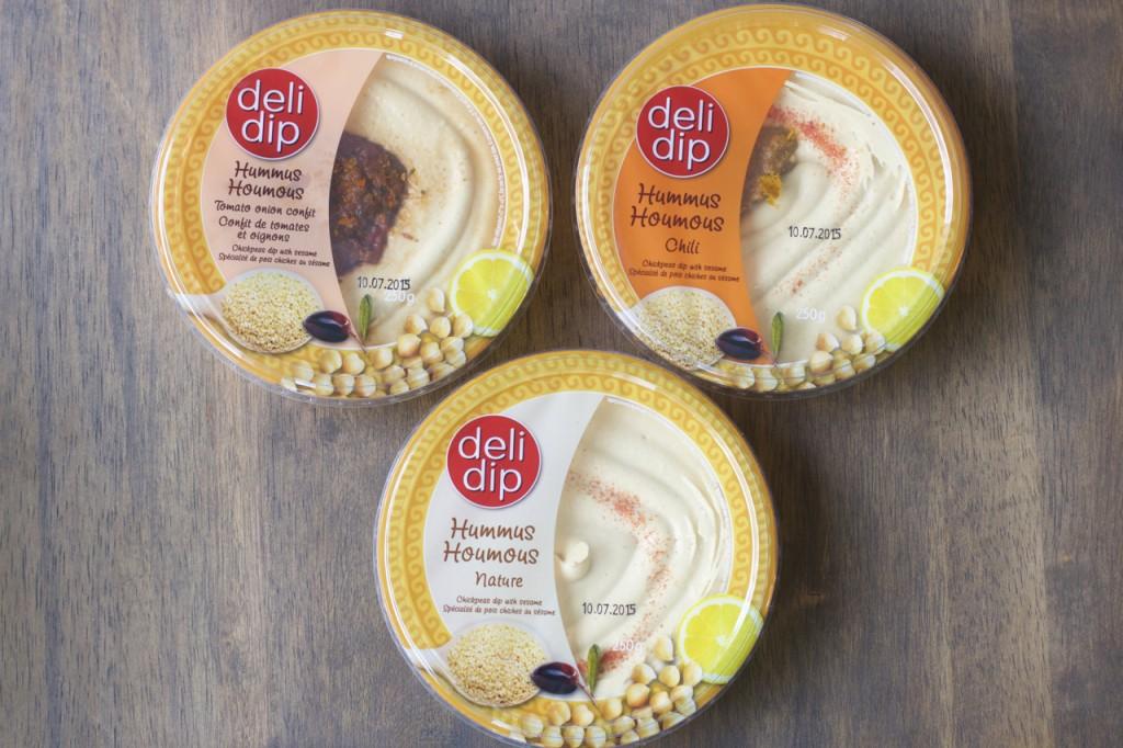 Hummusalternativer fra DeliDip Hummus