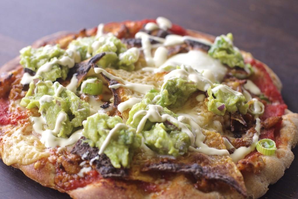 Pizza med nachos
